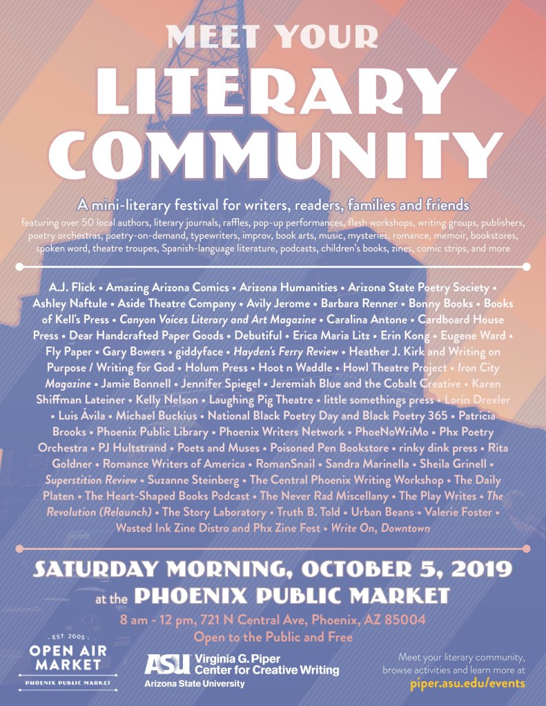 Poets and Muses Event Page: 20191005 Meet Your Community Flier